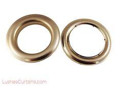 Curtain Drapery Nickel Metal Grommets Eyelets 12 Inner Diameter 1-1.4cm Pack of