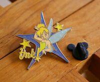 Tinkerbell Tink 2005 Official Pin Trading Walt Disney Lapel Pinback Tone Metal