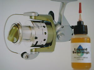 Liquid Bearings, THE BEST 100%-synthetic oil for Okuma reels, READ THIS !!!