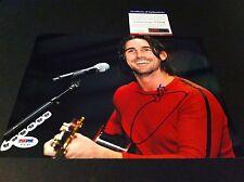 Jake Owen Country Singer Signed Auto 8x10 PSA/DNA COA