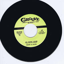 MICKEY & SYLVIA - NO GOOD LOVER (Fabulous Black Rockin' Jiver - A MUST) REPRO