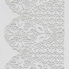 Icing / Fondant Impression Texture Mat - SCALLOP LACE - 30 x 15cm