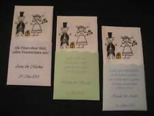 50 Stk.Taschentücher für Freudentränen, Gastgeschenk Hochzeit DIY, Give Away