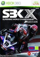 Used Xbox 360 SBK X: Superbike  MICROSOFT JAPAN JP JAPANESE JAPONAIS IMPORT