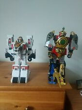 Power rangers legacy thunder megazord And White Tiger Zord
