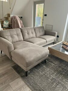 dfs fabric corner sofa