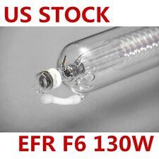 US Stock EFR F6 130W CO2 Sealed Laser Tube 1650mmL for Laser Engraver Engraving