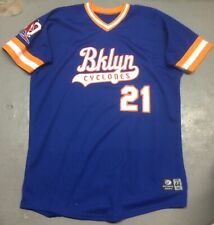 Brooklyn Cyclones Sidd Finch #21 Game Used Jersey 44 MILB NY Mets New York 1985