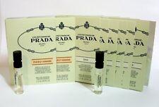 Lot of 8 Les Infusions de PRADA IRIS + FLEUR D'ORANGER Perfume Spray Samples NEW