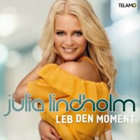 JULIA LINDHOLM - LEB DEN MOMENT   CD NEU