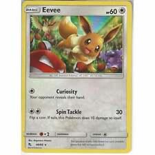 48/68 Eevee | Rare Holo Card | Pokemon Trading Card Game Hidden Fates TCG
