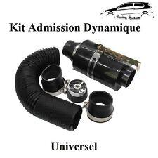 Kit D'admission Direct Dynamique Carbon Universel Boite Filtre à Air GOLF 3,4,5