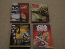 Star Wars DVD The Clone Wars Complete Season 1 & 2 Plus 2-DVD Movie with Book