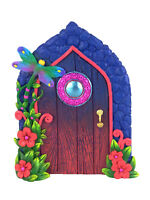 Miniature Dragonfly Fairy Door for the Enchanted Garden Fairies and Gnomes