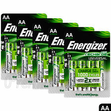 20 x Energizer Rechargeable AA batteries Universal 1300 mAh Accu NiMh Pack of 4