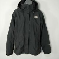 WOMENS THE NORTH FACE BLACK FLEECE LINED HYVENT COAT JACKET MEDIUM M