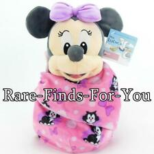 a598aa88a9040 Disney Parks Babies Minnie Mouse Blanket Pouch Plush Doll Toy 10
