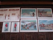 Winchester Royal Canadian Mounted Police Centennial Commemorative Prints RCMP