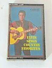 Elvis Sings Country Favorites Presley Cassette Tape 1984 Brand New Sealed  Dolby