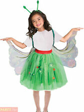 Girls The Very Hungry Caterpillar Costume Butterfly Book Week Fancy Dress Outfit