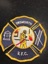 Emsworth Volunteer Fire Company Patch