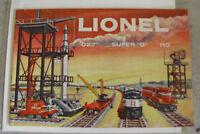 Vintage 1958 Lionel O27 O HO Train Catalog