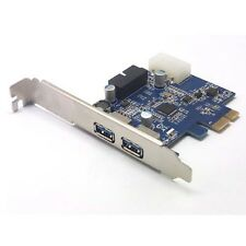 PCI-E USB 3.0 NEC D720201 Chipset 2 port 20-Pin Connector Control Card Adapter