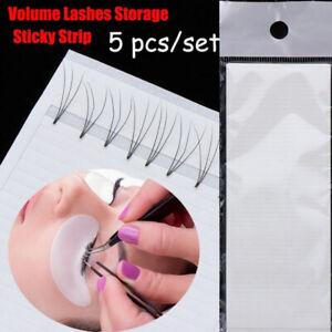 250 Strips Fan Tapes Volume Eyelash Extension  Lashes  Storage Sticky Strip -AU