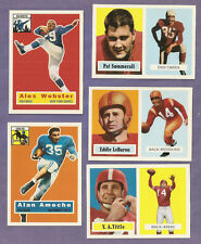 pick any 4 card lot - 1956 1957 Topps Archives 1994 Football set