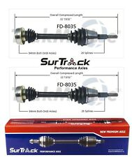 For Ford Aerostar AWD/4WD 1992-1997 Pair of Front CV Axle Shafts SurTrack Set