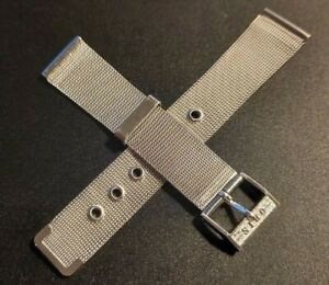 ORIS STAINLESS STEEL WATCH STRAP 1970s 18mm