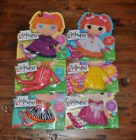 New LALALOOPSY Doll Clothes Outfits NWT Coat Party Dress Pajamas Raincoat Shoes