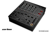 Skin Decal Wrap for PIONEER DJM-600 DJ Mixer CD Pro Audio DJM600 Parts CARBON