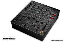 Skin Decal Wrap for PIONEER DJM-600 DJ Mixer CD Pro Audio DJM600 Parts CARBON