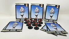 "Wizards Coast Star Wars Miniature Lot of 9 Ugnaught Demolitionist 1"" RPG EUC"