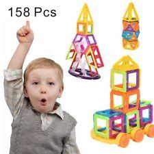 158 Teile Magnetische Bausteine Magnetspielzeug Magnetic Building Bauklötze
