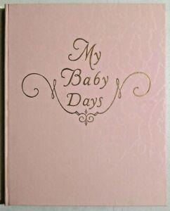 Unused Antique 1923 Baby Record Journal Album Beautiful Illustrations -- 4514