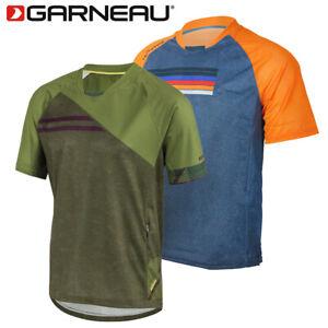 Louis Garneau Span Men's Cycling Jersey - Green, Orange