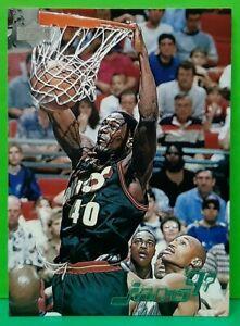 Shawn Kemp subset card Jams '97 1997-98 Upper Deck #160
