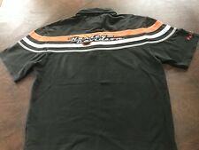 Men's L  Polo Shirt   Harley Davidson  Embroidered Black