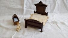 Bedroom Vintage Miniature Beds for Dolls
