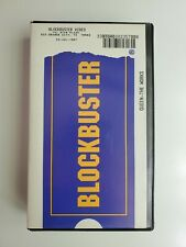 Blockbuster Video Official VHS in Clamshell Case QUEEN THE WORKS not Queen Vinyl
