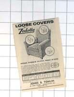 1964 Jones And Tomlin High Street Shoreham Will Provide Loose Covers