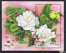 [SS] Malaysia 2016 Scented Flowers M/S