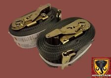 Transport Hauling Load Package - (2) E-Track 16' Ratchet Tie Down Straps