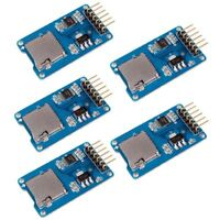 5pc Micro SD Storage Board Mciro SD TF Card Memory Shield Module SPI for Arduino