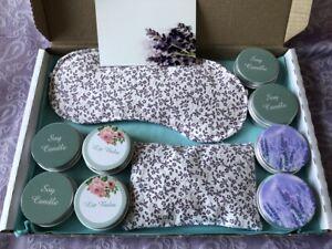 Relaxing Lavender Letterbox Gift Set (Vegan, handmade)