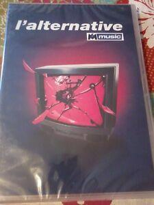 L'ALTERNATIVE MUSIC Various Artists 2004 DVD & CD set NEW Sealed rock POST FREE