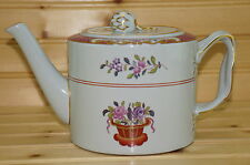 Spode Lord Calvert Y5351 Tea Pot with Matching Lid, 4 3/8""