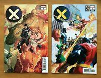 X-Men 3  Leinil Francis Yu Main Cover + Alex Ross Marvel 25th Variant Marvel NM-